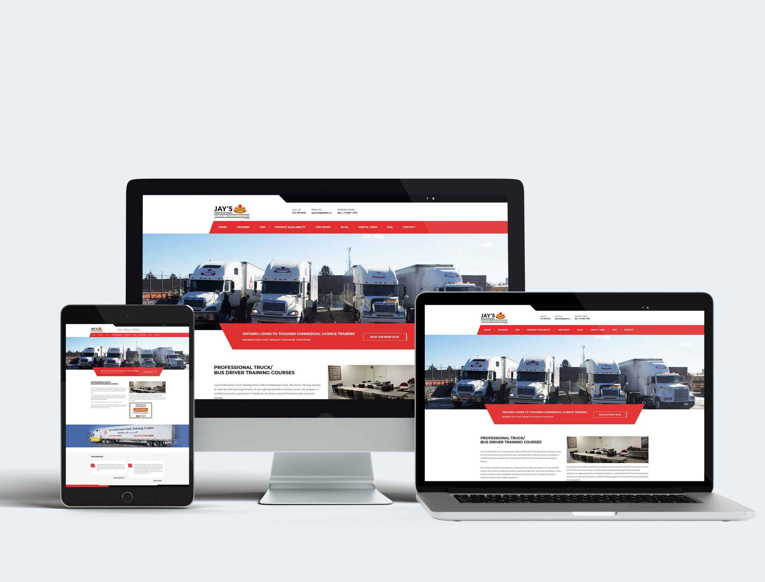 Jay's Professional Truck Training Centre